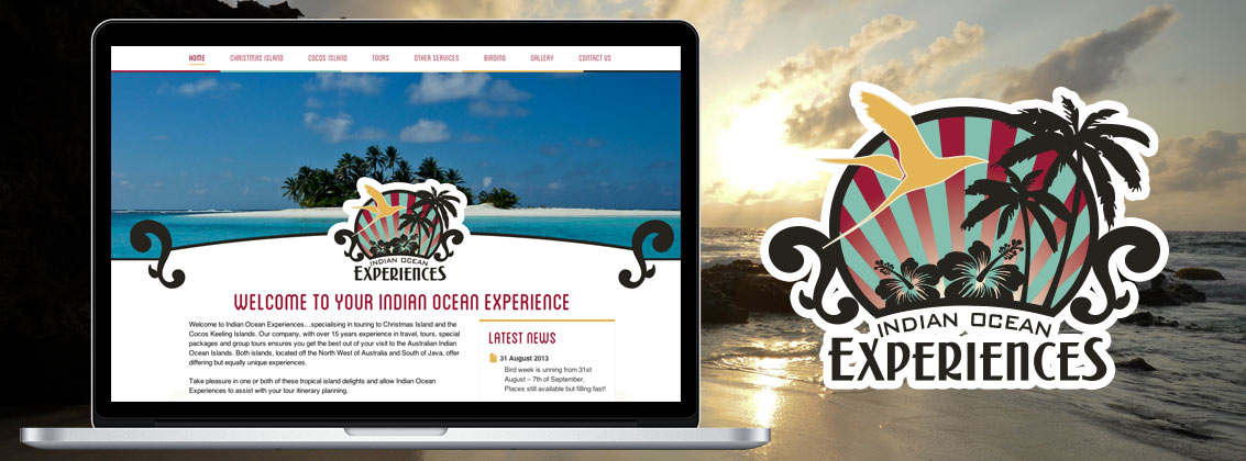 Indian Ocean Experiences Website Portfolio